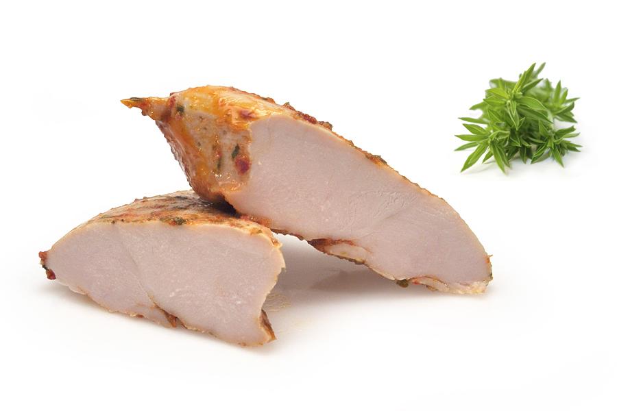 Kyllingebryst med Glansmarinade Løvstikke & Porre